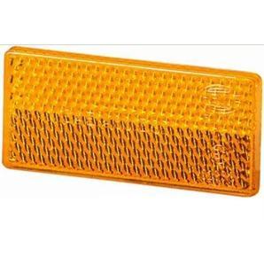 hella r ckstrahler reflektor rechteckig 31 5x70 gelb. Black Bedroom Furniture Sets. Home Design Ideas
