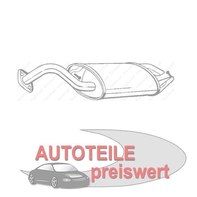 Autoteile Preiswert Endschalldämpfer Toyota Corolla