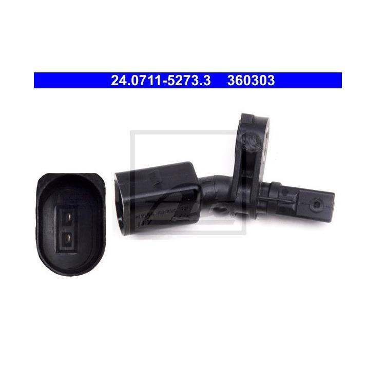 ATE-Sensor-ABS-Delantero-Izquierdo-Audi-Seat-Skoda-VW