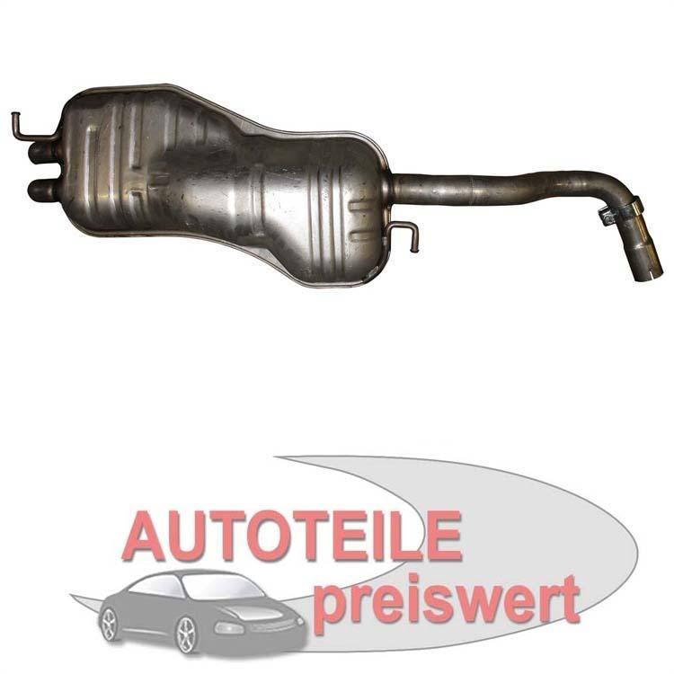 Endschalldämpfer AUDI A3 8L 8L1 1,9 TDI Diesel Auspuff