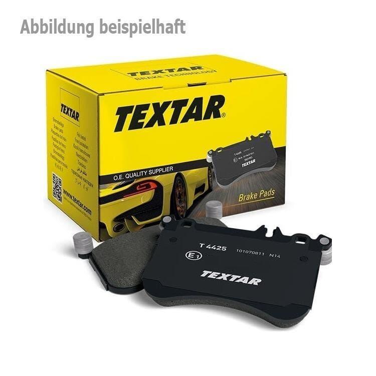 Teilebild Textar Bremsbeläge hinten Audi Citroen DS Fiat For