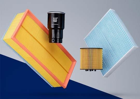 Ölfilter, Luftfilter, Kraftstofffilter, Innenraumfilter vom Markenhersteller Blue Print kaufen - Autoteile Preiswert