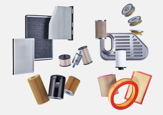 Ölfilter, Luftfilter, Kraftstofffilter, Getzriebefilter, Innenraumfilter kaufen - Autoteile Preiswert