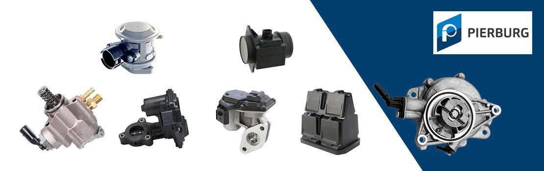 Pierburg AGR-Ventile, Luftmassenmesser, Unterdruckpumpen und mehr kaufen - Autoteile Preiswert