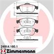 Zimmermann Bremsscheiben + Bremsbeläge vorne Dacia Duster Renault Fluence Megane III + Coupe CC