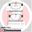 Zimmermann Bremsbeläge vorne Citroen C5 DS4 DS5 Peugeot 508 RCZ