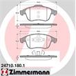Zimmermann Bremsscheiben + Bremsbeläge Renault Grand Scenic Laguna