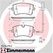 Zimmermann Bremsbeläge hinten Audi A6 A7 + quattro Porsche Macan