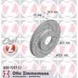 2 Zimmermann Sportbremsscheiben 256mm vorne Seat Arosa Ibiza VW Golf 4 Vento Passat Polo