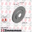 2 Zimmermann Bremsscheiben 276mm vorne Mercedes A-Klasse W168