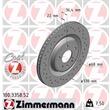 2 Zimmermann Sportbremsscheiben hinten Audi A4 A5 A6 A7 A8