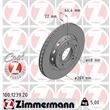 Zimmermann Bremsscheiben + Bremsbeläge hinten Audi A8 für PR-Nummer 1KE