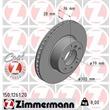 Zimmermann Bremsscheiben + Bremsbeläge vorne BMW E34 540i V8