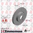 Zimmermann Bremsscheiben + Bremsbeläge vorne Mercedes Viano Vito W639