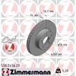 Zimmermann Bremsscheiben + Bremsbeläge vorne Subaru Impreza Legacy