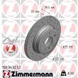 1 Zimmermann Sportbremsscheibe 150.3432.52 BMW X3