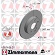 Zimmermann Bremsscheiben + Bremsbeläge vorne Mercedes W124