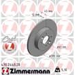 Zimmermann Bremsscheiben + Bremsbeläge hinten Renault Kangoo + Rapid 1,6-1,9 dCi 16V + 4x4