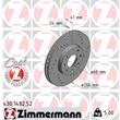 Zimmermann Sport-Bremsscheiben + Bremsbeläge VA+HA Opel Astra G Cabrio Caravan CC Coupe Stufenheck