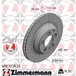 Zimmermann Bremsscheiben + Bremsbeläge hinten Audi Q7 Porsche Cayenne VW Touareg 2,5-6,0