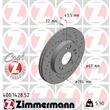 1 Zimmermann Sportbremsscheibe Mercedes E-Klasse Sl