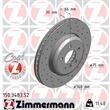 1 Zimmermann Sportbremsscheibe BMW 5er 6er