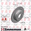 1 Zimmermann Sportbremsscheibe 150.1285.52 BMW 5er