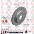 Zimmermann Bremsscheiben + Bremsbeläge hinten BMW E46 325 xi
