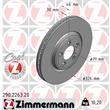 Zimmermann Bremsscheiben + Bremsbeläge vorne Jaguar S-Type XJ