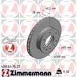 Zimmermann Bremsscheiben + Bremsbeläge vorne Mercedes Sprinter VW Crafter