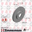 Zimmermann  Bremsscheiben + Bremsbeläge vorne Nissan Note 1,2 1,5 dCi