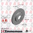 Zimmermann Sportbremsscheiben + Bremsbeläge vorne Mercedes A-Klasse W169 B-Klasse W245