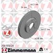 Zimmermann Bremsscheiben + Bremsbeläge vorne Ford Tourneo Transit ab 2002