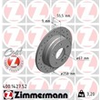 1 Zimmermann Sportbremsscheibe Mercedes C-Klasse
