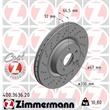 Zimmermann Bremsscheiben + Bremsbeläge VA+HA Mercedes E- Klasse + Kombi W211 S211 bis Bj. 06/06