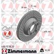 Zimmermann Bremsscheiben + Bremsbeläge hinten Porsche 911 + Cabriolet 997 3,6-3,8
