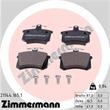 Zimmermann Bremsscheiben + Bremsbeläge hinten Audi 100 200 A8