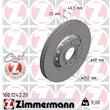 Zimmermann Bremsscheiben + Bremsbeläge vorne Audi A4 A6 Seat Exeo Skoda Superb