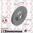 Zimmermann Bremsscheiben + Bremsbeläge vorne Audi A8 4E für PR Nr. 1LG