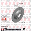 Zimmermann Bremsscheiben + Bremsbeläge VA+HA vorne + hinten Audi Seat Skoda VW