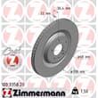 Zimmermann Bremsscheiben + Bremsbeläge hinten Audi A4 A5 Q5