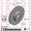 Zimmermann Bremsscheiben + Bremsbeläge vorne BMW 7er E65 745 760