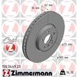 Zimmermann Bremsscheiben + Bremsbeläge vorne BMW X5 X6