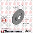 Zimmermann Bremsscheiben 257mm + Bremsbeläge vorne Fiat Grande Punto 199