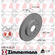 Zimmermann Bremsscheiben + Bremsbeläge vorne Mercedes C-Klasse W202