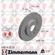 Zimmermann Bremsscheiben 288mm + Bremsbeläge vorne mit WK Mercedes C-Klasse W203 180 200 220 230