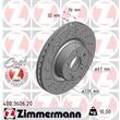 Zimmermann Bremsscheiben + Bremsbeläge vorne Mercedes S-Klasse W220 + Coupe C215 CL500 + CDI