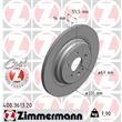 Zimmermann Bremsscheiben + Bremsbeläge VA+HA Mercedes M-Klasse W163 ML320 ML500 55 AMG