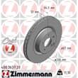 Zimmermann Bremsscheiben + Bremsbeläge vorne Mercedes E-Klasse + Kombi W211 S211 320 350 T CDI