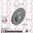 Zimmermann Bremsscheiben + Bremsbeläge vorne Mercedes C-Klasse W204